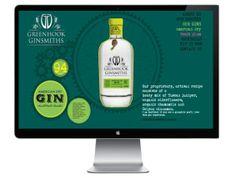 Greenhook Ginsmiths web design