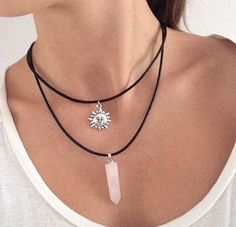 Not only do I love pink, but I love crystals... so this is absolutely beautiful