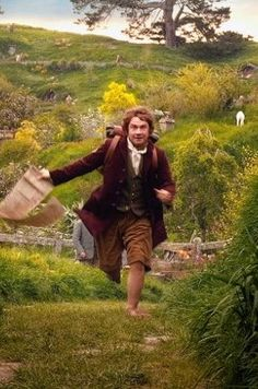 bilbo baggins: i am going on an adventure ! the hobbit: an unexpected journey.
