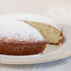 "Irish Tea Cake --- YUMMMM ""This is a simple butter cake that is great witlh tea or coffee. Easy to make, pretty and very delicious. Cupcakes, Cupcake Cakes, Poke Cakes, Layer Cakes, Irish Tea Cake Recipe, Irish Cake, Irish Coffee Cake, Just Desserts, Delicious Desserts"