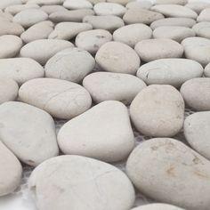Pebble shop ☀️ Riverstone pebble wit © per pak - Riverstone pebble