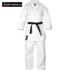 Black 14oz Blitz Adult Karate Suit Gi Uniform Silver Tournament