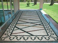 Pebble mozaik. By Mehmet ışıklı Antalya Türkiye. 2006