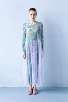 Платье прозрачное сирень / Transparent dress lilac