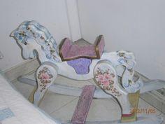 Caballo  decorado  con pinceladas