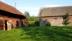 Sprzedam piękne siedlisko w zacisznym miejscu Rozogi • OLX.pl Poland, Safari, Cabin, House Styles, Cabins, Cottage, Wooden Houses