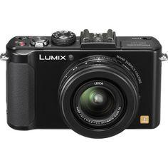 Panasonic Lumix cámara digital (Negro) B & H High Shutter Speed, Point And Shoot Camera, Photography Gear, Zoom Lens, Focal Length, Fujifilm Instax Mini, Leica, Wide Angle, Binoculars