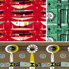 Mid Century textiles.