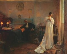 The Ring ~ John Henry Frederick Bacon ~ (British: 1868-1914)