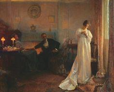The Ring ~ John Henry Frederick Bacon ~ (British: 1868-1914)
