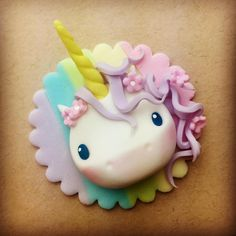 Working on the next little cupcake tutorial!! #unicornlove #cupcaketoppers #cupcakes #cake #cakedecorating #unicorn #love #smile #happy #sugarpaste #fondant #kawaii #rainbow #pastel #sugarhighinc
