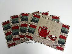 Jogo Americano O VALOR DE R$ 45,00 é por peça As cores dos produtos dependem dos tecidos em estoque
