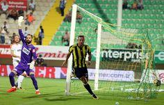 Alanyaspor 1-4 FB Janssen'in gol sevinci.