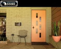 Mid Century On Pinterest Exterior Doors Modern Entry And Cedar Shutters