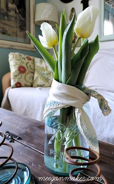 Simple Solutions to Add Spring Decor