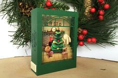 Greeting card Christmas cards your text by ColibriGift on Etsy