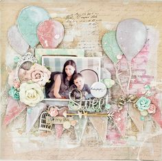 C'est Magnifique Scrapbook Kits and Store: March Sketch Challenge Winner and Features Birthday Scrapbook Pages, Scrapbook Titles, Kids Scrapbook, Scrapbook Cards, Scrapbook Templates, Scrapbook Layout Sketches, Scrapbooking Layouts, Mixed Media Scrapbooking, Scrapbook Embellishments