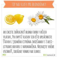 Tip pre blondínky #diy #vyrobsisama