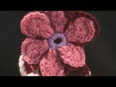 Ecliptic Crochet Flower - YouTube