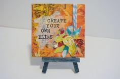   Mels art journal   Mixed media art / Journal pages