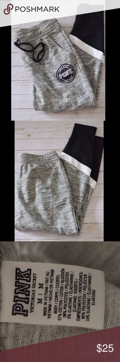 Victoria's Secret PINK Gray Sweat Pants Excellent condition PINK Victoria's Secret Pants Track Pants & Joggers