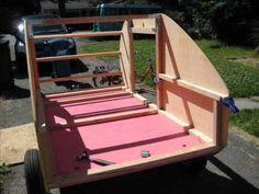 Building my teardrop trailer, camper, from scratch. - YouTube
