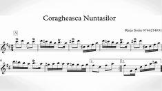 Coragheasca Nuntasilor (Florin Tarata) - Partitura + Tutorial Saxofon cu... Sheet Music, Math Equations, Music Sheets