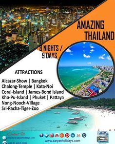 Amazing Thailand. Visit & capture the moments.