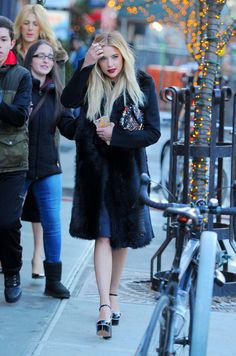 February 18 - Ashley Benson - out and about in Manhattan, New York