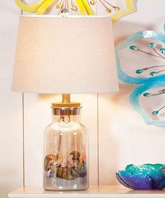 DIY inspiration-Jar Display Lamp