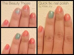 Quick Fix: Chipped Nail Polish