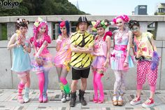 Amazing pictures from the first date on Japanese fashion brand Harajuku Kawaii Experience world tour. Japanese Street Fashion, Tokyo Fashion, Harajuku Fashion, Harajuku Clothing, Harajuku Mode, Harajuku Japan, Harajuku Style, Japan Street, Tokyo Street Style