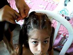 penteado infantil para cabelo cacheado - Pesquisa Google