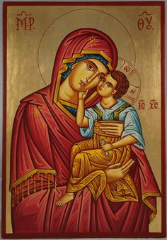 Theotokos Sweet Loving(Virgin Mary Eleusa) About our icons BlessedMart offers hand-painted religious icons that follow the Russian, Greek, Byzantine and Roman Catholic traditions. We partner with some of the most experienced iconographers in the country. Artists with more than 20 years of experience in modern iconography. Each and every icon that we sell in our online store