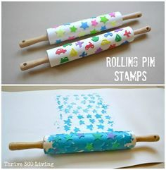 Sellos rodillo de amasar   -   Rolling Pin Stamps