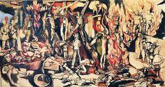 Rosso #Guttuso presenta una selezione di lavori del #pittore neorealista, tracciando un duplice #percorso che è, allo stesso tempo, cronologico e tematico. In mostra, infatti, saranno esposte #opere che vanno dal 1934 fino al 1984. #arte #mostra #catania