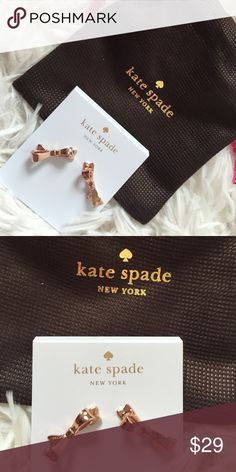 Final price⛔️️💕💞 Kate Spade gorgeous earrings New with tags and gift box💕 kate spade Jewelry Earrings