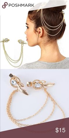 Funky Style Hair Clip new trend! brand new.. goes perfect with any hairstyle Accessories Hair Accessories