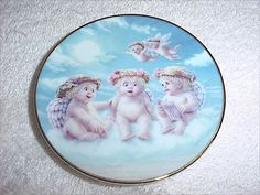 Dreamsicles The Flying Lesson by Kristin Haynes Hamilton Mini Plate