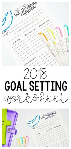 Hey ya'll! I'm back with an updated 2018 goal setting worksheet for you. You guys absolutely loved this printable last year, so I updated it to reflect 2018, and I have some fun things coming over the next month to get you guys ready to make 2018 awesome! In a couple of weeks I am …