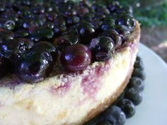 Blueberry and Lavender Chevre Cheesecake | Smart Balance