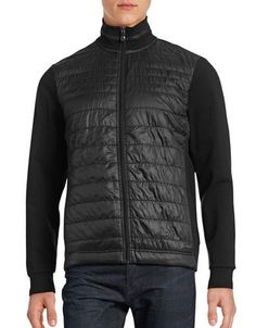 Hugo Boss Pizzoli Quilted Active Jacket Men's Black Large