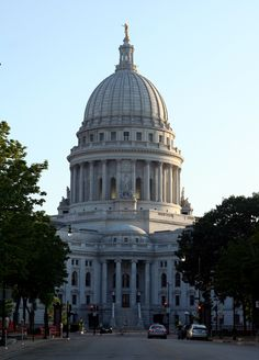 The Wisconsin Capital Building in Madison