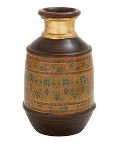 Love this Terra-Cotta Painted Vase on #zulily! #zulilyfinds