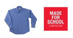 GEAR: Long Sleeve School Shirt: Dressing kids in winter uniforms seems to happen quicker each year.  Don't get caught in the changeover, grab this long sleeve school shirt for your kids today.