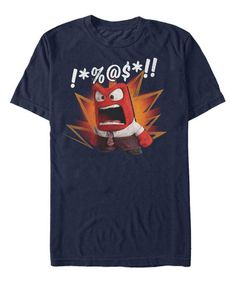 Fifth Sun Inside Out Navy Curse Word Tee - Mens   zulily