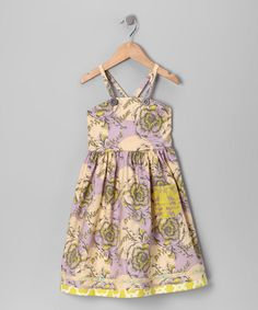 Take a look at this Lilac Alice Dress - Toddler & Girls by Moxie & Mabel on today! Toddler Girl Dresses, Toddler Girls, Girls Dresses, Summer Dresses, That Look, Take That, Lilac, Girl Outfits, Alice