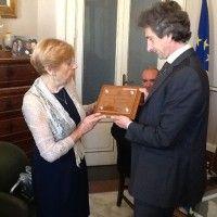 Lecce: Perrone incontra il Console dei Maestri del Lavoro | #InOnda WebTv