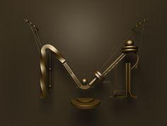 Shape typeface by Jaroslav Hach | Abduzeedo Design Inspiration