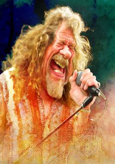 Robert Plant by wooden-horse.deviantart.com on @DeviantArt